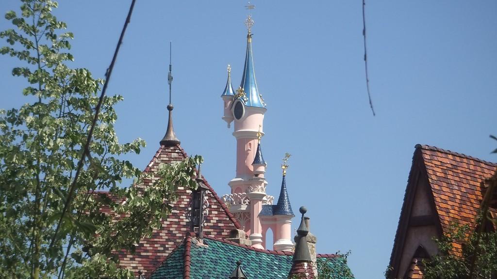 le chateau de la belle au bois dormant.